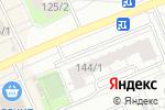 Схема проезда до компании Эверест в Новосибирске