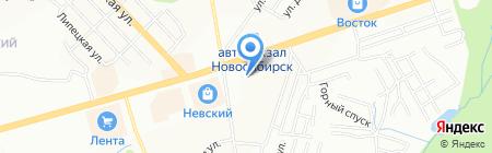 AVIC SPORT на карте Новосибирска