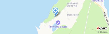 Юность на карте Бердска