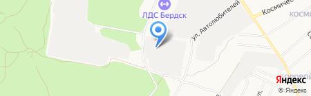 БЭМЗ на карте Бердска