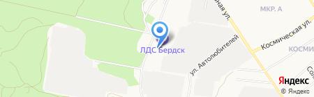 Казачий кадетский корпус им. героя РФ О. Куянова на карте Бердска