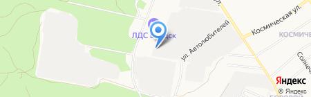 Снаряжение на карте Бердска