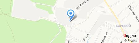 Пункт технического осмотра на карте Бердска