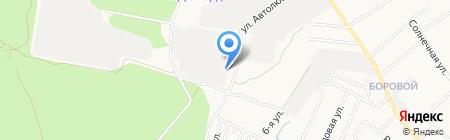 Алпром на карте Бердска