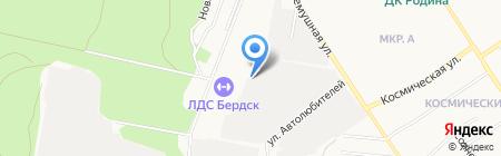 АЛЬФАСИБ на карте Бердска