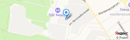 Автотранссервис на карте Бердска