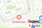 Схема проезда до компании ОПТИКА на Весеннем в Новосибирске