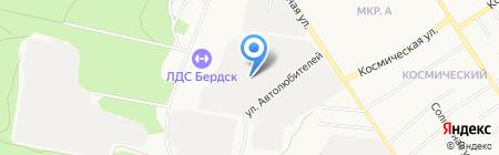 ГравМастер на карте Бердска