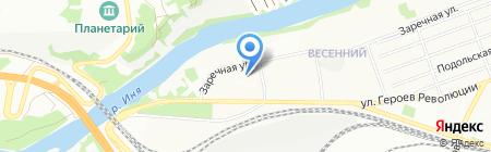 Новый взгляд на карте Новосибирска