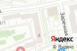 Схема проезда до компании Весенний лучик в Новосибирске