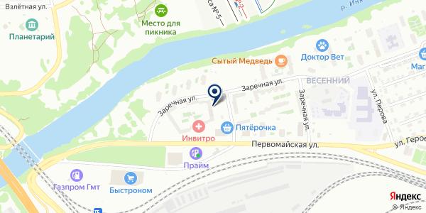 Управляющая компания Первого строительного фонда на карте Новосибирске
