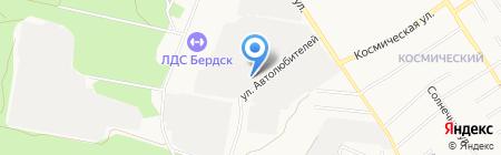 Центр Государственной инспекции по маломерным судам на карте Бердска