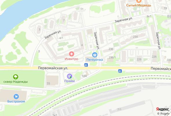 жилой комплекс по ул. Заречная