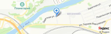 Гранат на карте Новосибирска