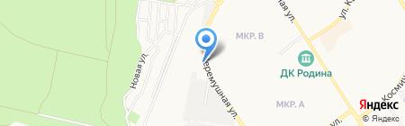 Автостоянка на карте Бердска