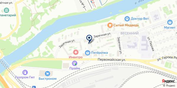 МаркоVа на карте Новосибирске