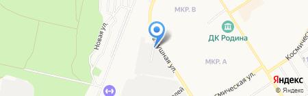 СИБОИЛ на карте Бердска