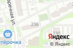 Схема проезда до компании Сильвия в Новосибирске