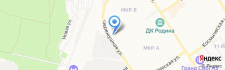 Погребок на карте Бердска