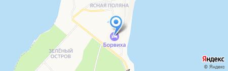 Борвиха на карте Бердска