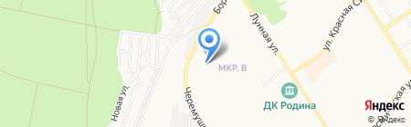Киоск по продаже кондитерских изделий на карте Бердска