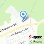 Иванушка на карте Новосибирска