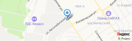 Пожарная часть №32 на карте Бердска