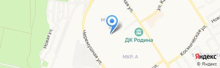 Средняя общеобразовательная школа №12 на карте Бердска