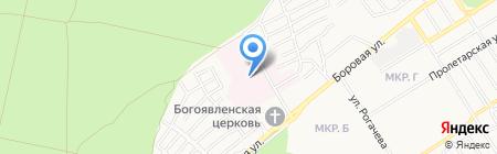 Поликлиника №2 на карте Бердска