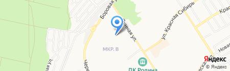Детский сад №7 на карте Бердска