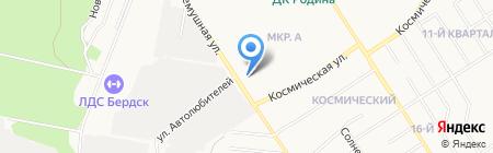СибБизнесБрокер на карте Бердска