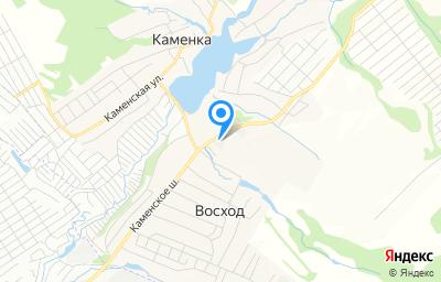 Местоположение на карте пункта техосмотра по адресу Новосибирская обл, Новосибирский р-н, п Восход, ул Солнечная