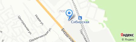 Антикоррозионные технологии и сервис на карте Новосибирска
