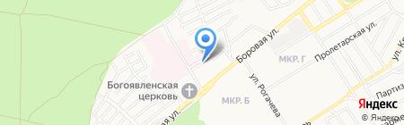 Бердский родильный дом на карте Бердска