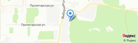 Сибирские Бетонные Технологии на карте Новосибирска