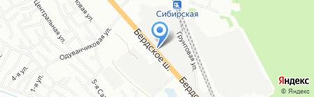 Дорстройтехника на карте Новосибирска