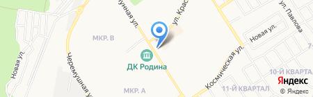 Рабочая одежда на карте Бердска