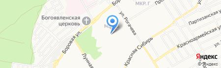 Детский сад №21 на карте Бердска