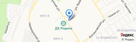 Банкомат Банк ВТБ 24 на карте Бердска
