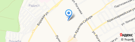 Детский сад №28 на карте Бердска