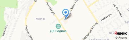 Новосибирская птицефабрика на карте Бердска