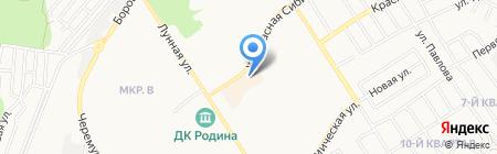 Улёт на карте Бердска