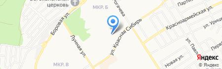 Обстановочка на карте Бердска