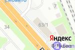 Схема проезда до компании ЗИП Центр в Новосибирске