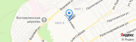 Зоомир на карте Бердска