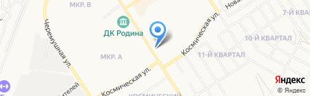 ПрофСеть на карте Бердска