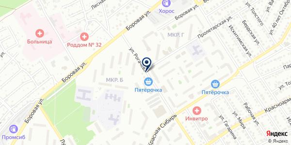 Центр по ремонту часов и печати фотографий на карте Бердске