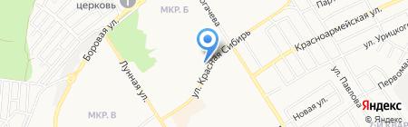 БЕРДСКАЯ РЕКЛАМА на карте Бердска