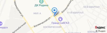 Мастерская шиномонтажа и заправки автокондиционеров на карте Бердска
