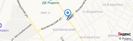 Мебельный магазин на карте Бердска